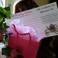 Give a Unique Tea Experience with an Afternoon Tea Gift Certificate from The Travelling TeaRoom.